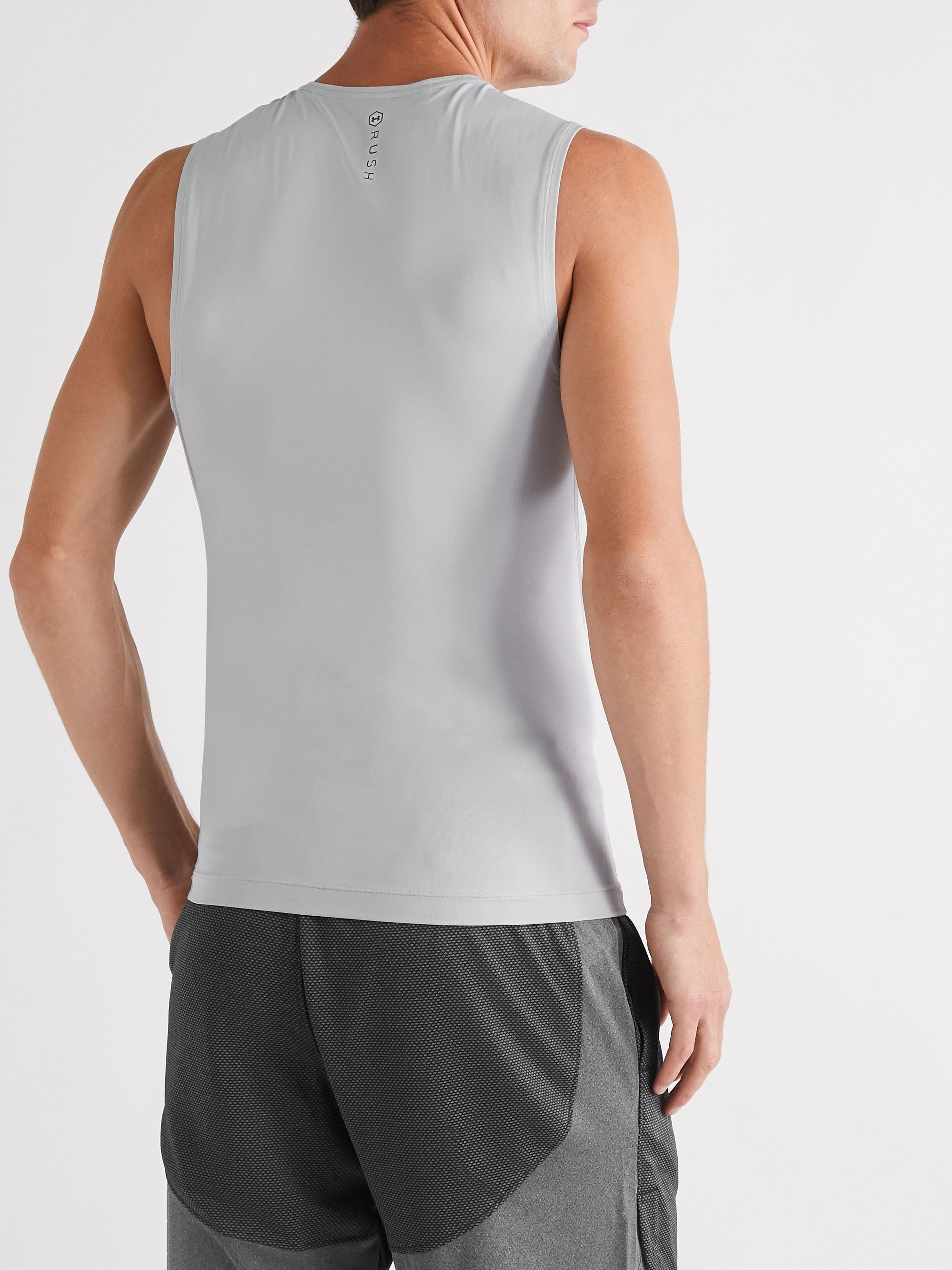 Under Armour Rush Compression Mesh-Panelled HeatGear Tank Top