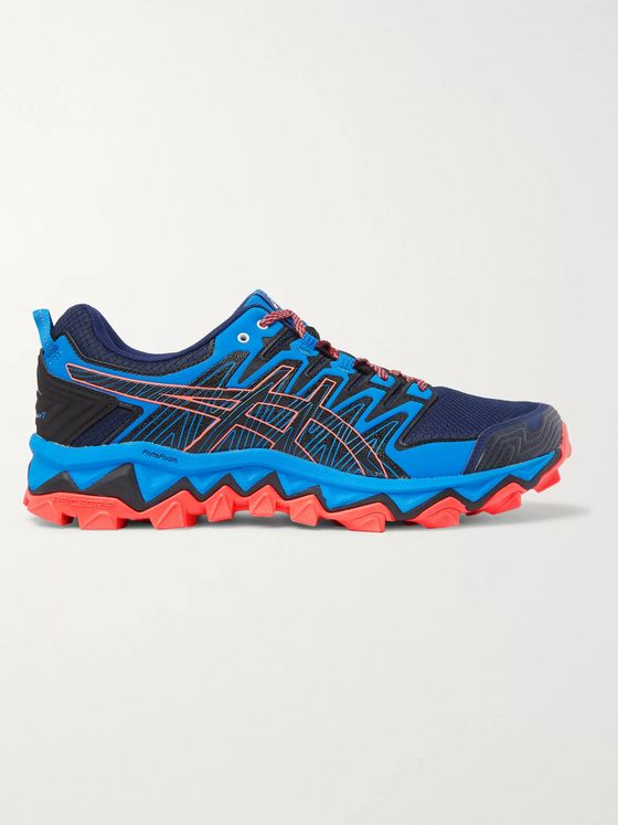 ASICS GEL-FUJITRABUCO 7 Mesh and Rubber Trail Running Sneakers