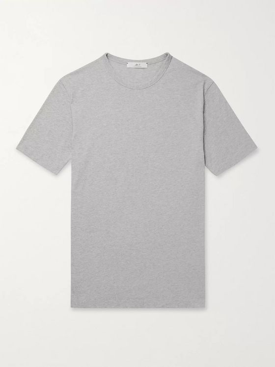Mr P. MR PORTER Health In Mind Printed Cotton-Jersey T-Shirt