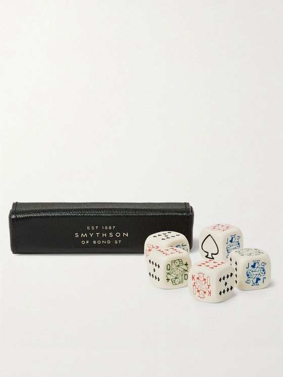 SMYTHSON Grosvenor Poker Dice