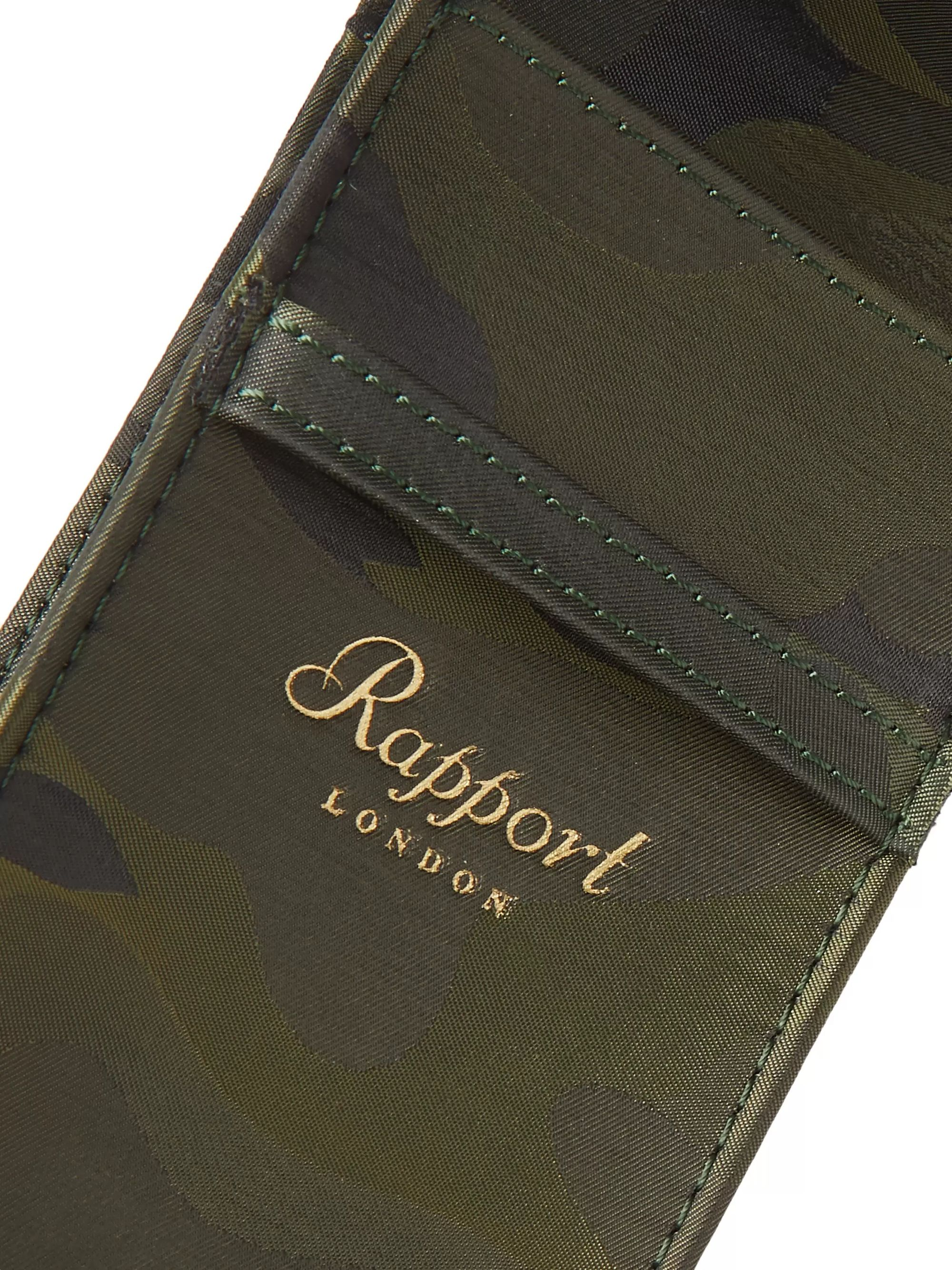 Rapport London Camouflage-Print Coated-Canvas Watch Case