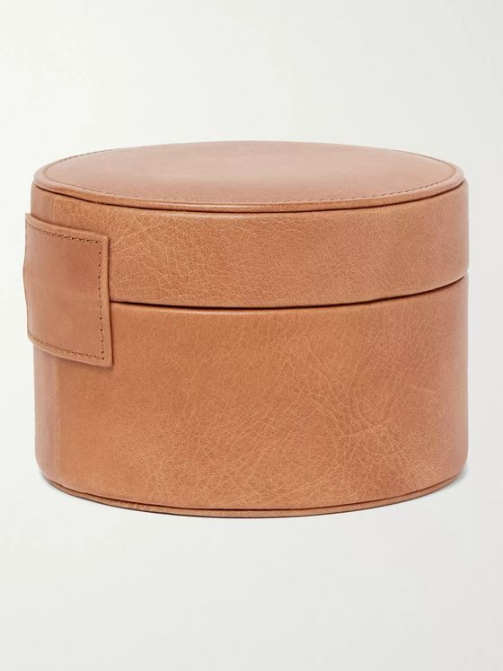 Rapport London Leather Watch and Cufflink Box