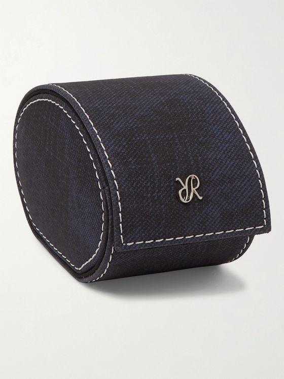 Rapport London Soho Denim Watch Roll