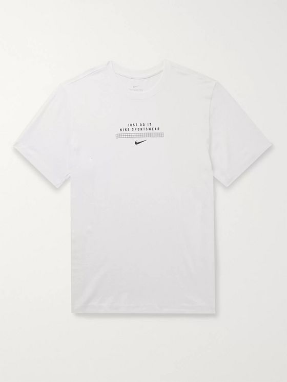 Nike DNA Logo-Print Cotton-Jersey T-Shirt