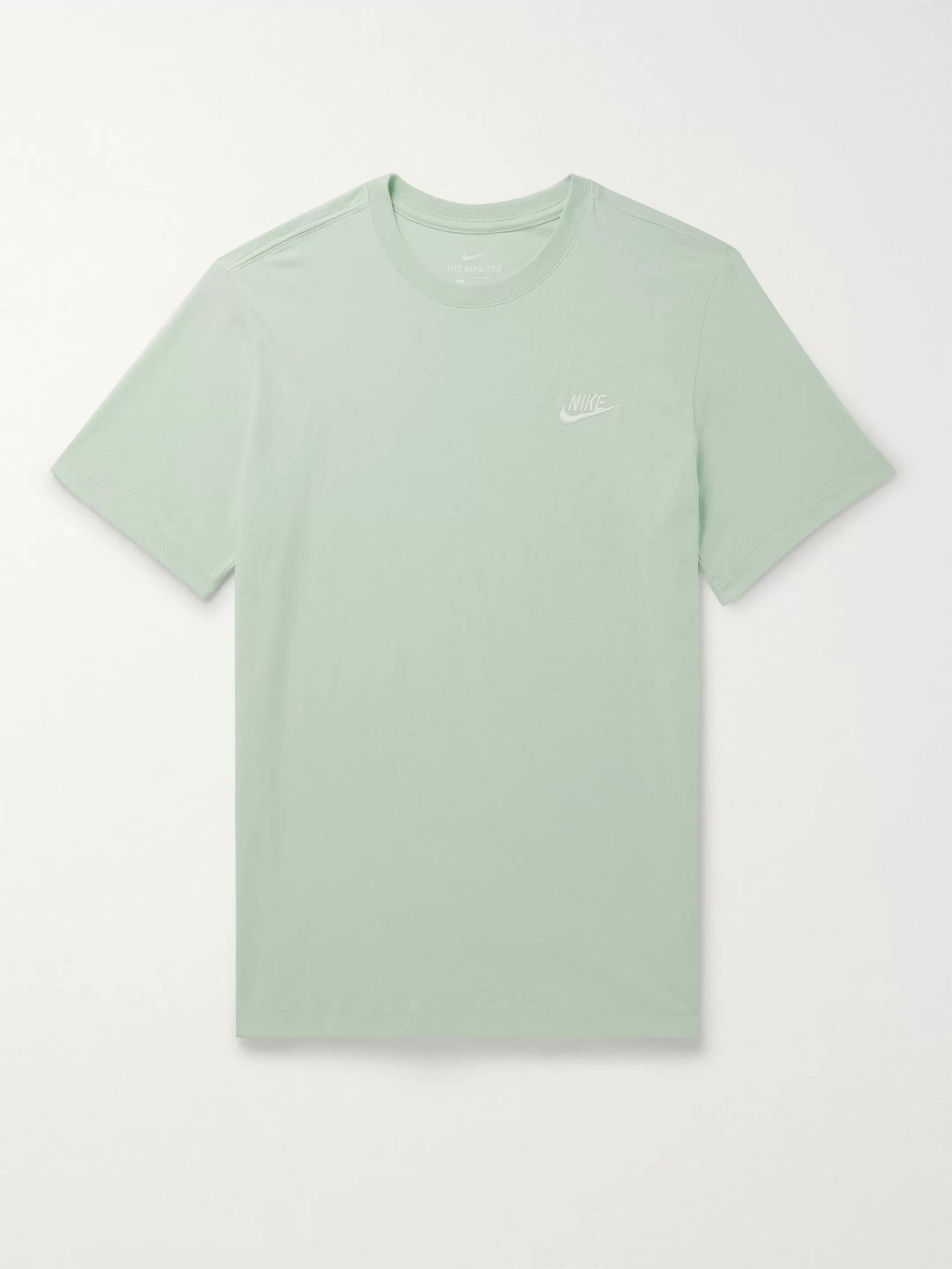 Nike Slim-Fit Logo-Embroidered Cotton-Jersey T-Shirt