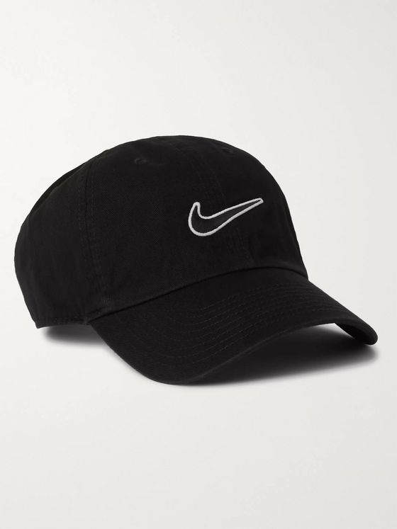 Nike Sportswear Heritage 86 Logo-Embroidered Cotton-Twill Baseball Cap