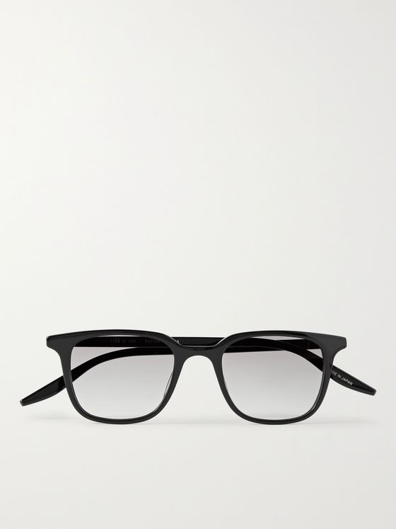FEAR OF GOD + Barton Perreira Square-Frame Acetate Sunglasses