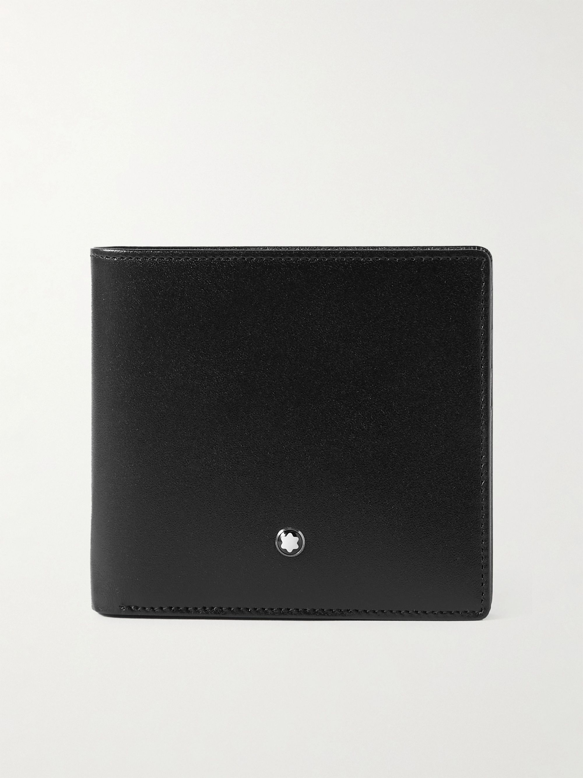 몽블랑 반지갑 Montblanc Meisterstueck Leather Billfold Wallet,Black