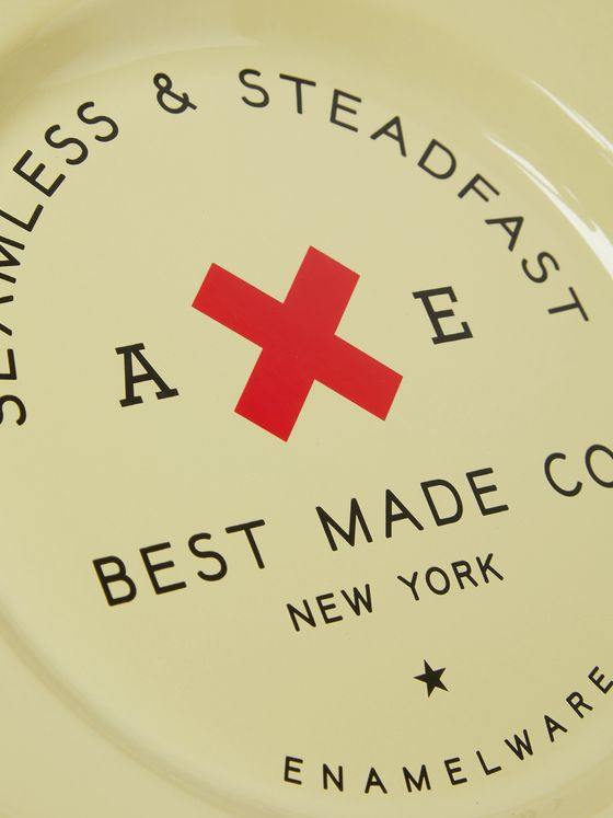 Best Made Company Seamless and Steadfast Enamelled Plates