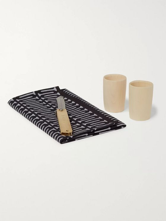 Best Made Company The Japan Higo Knife, Cup and Tenugui Set