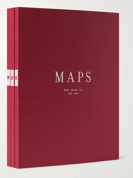 Best Made Company The Map Notebooks Set