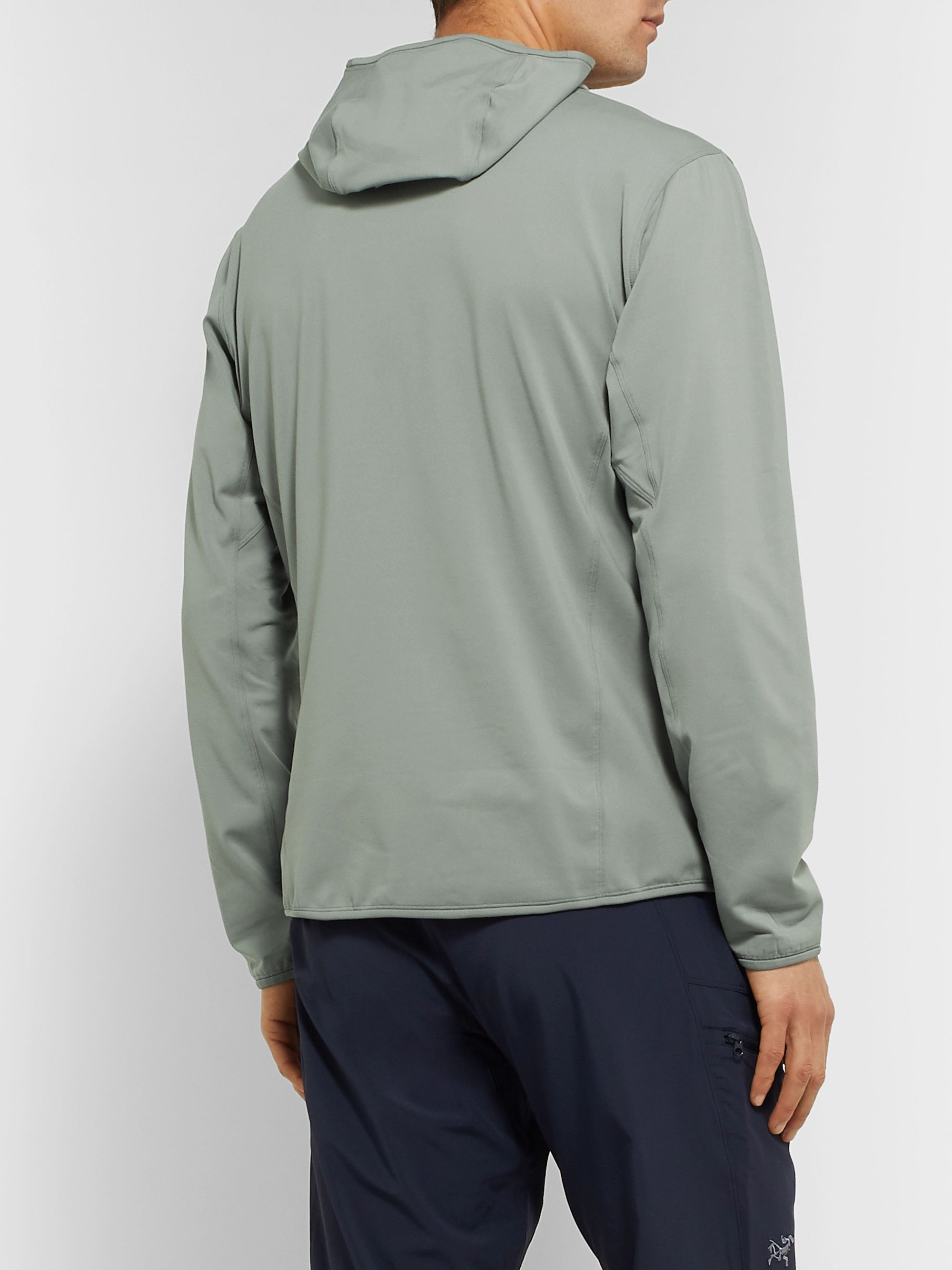 Arc'teryx Kyanite Polartec Power Stretch Pro Zip-Up Hoodie
