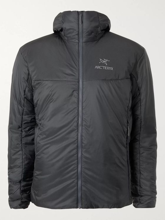 Arc'teryx Nuclei FL Slim-Fit Padded Arato 10D Ripstop Hooded Jacket