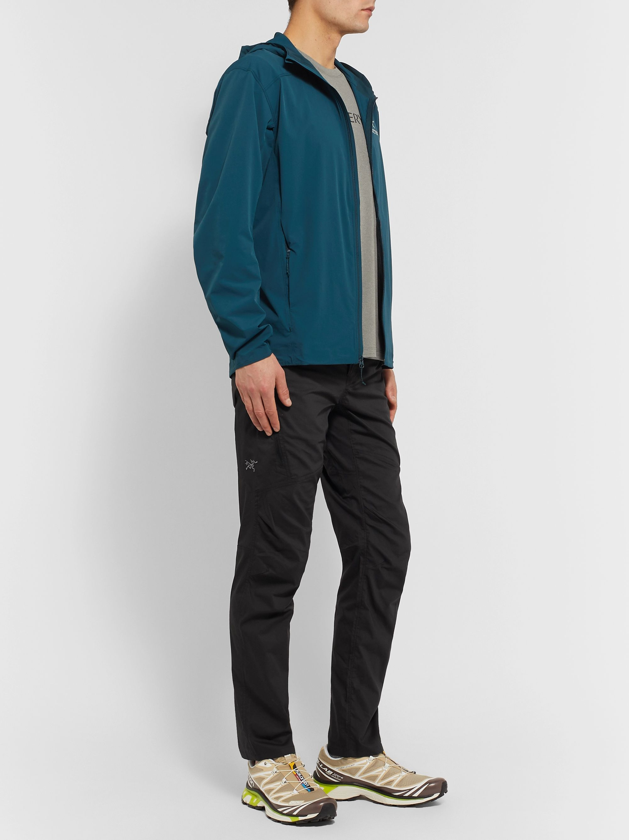 Arc'teryx Stowe Slim-Fit Tapered Stretch Cotton and Nylon-Blend Trousers