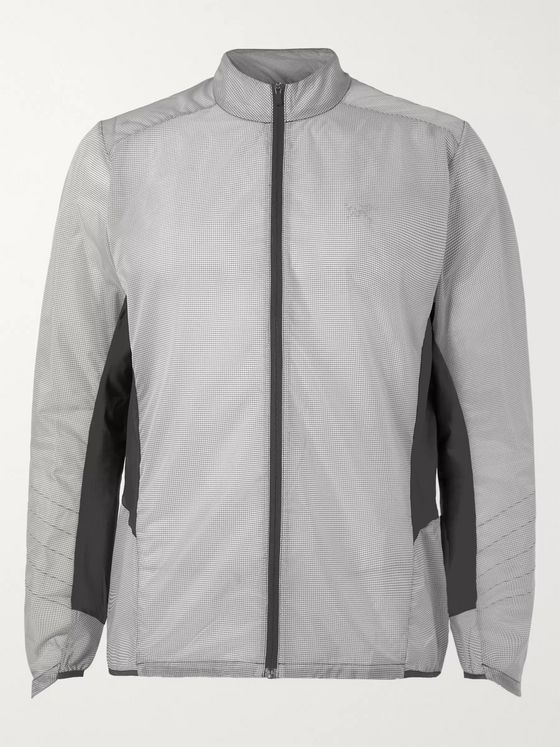 Arc'teryx Incendo Shell-Panelled Ripstop Jacket