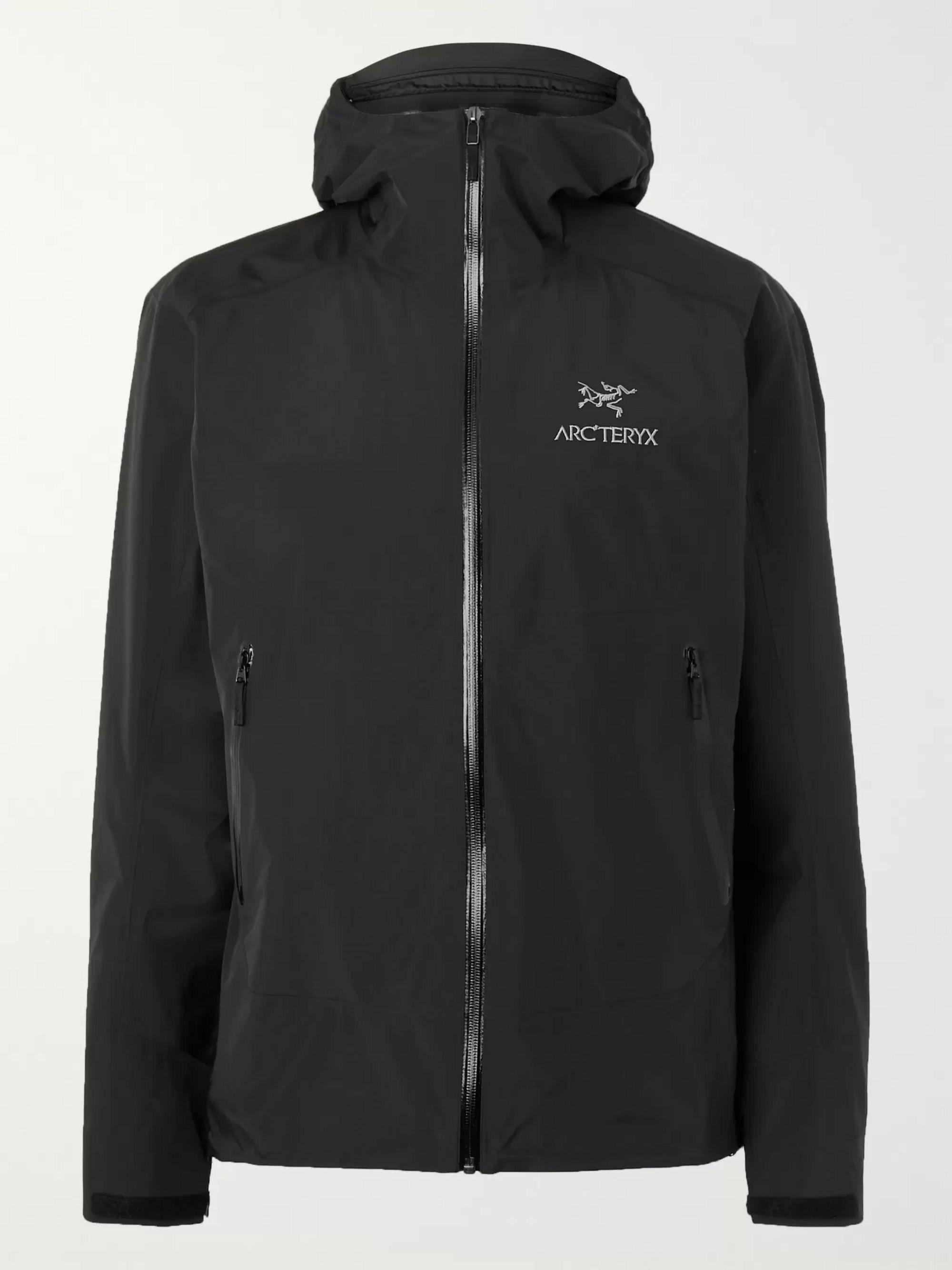 arcteryx jacket black