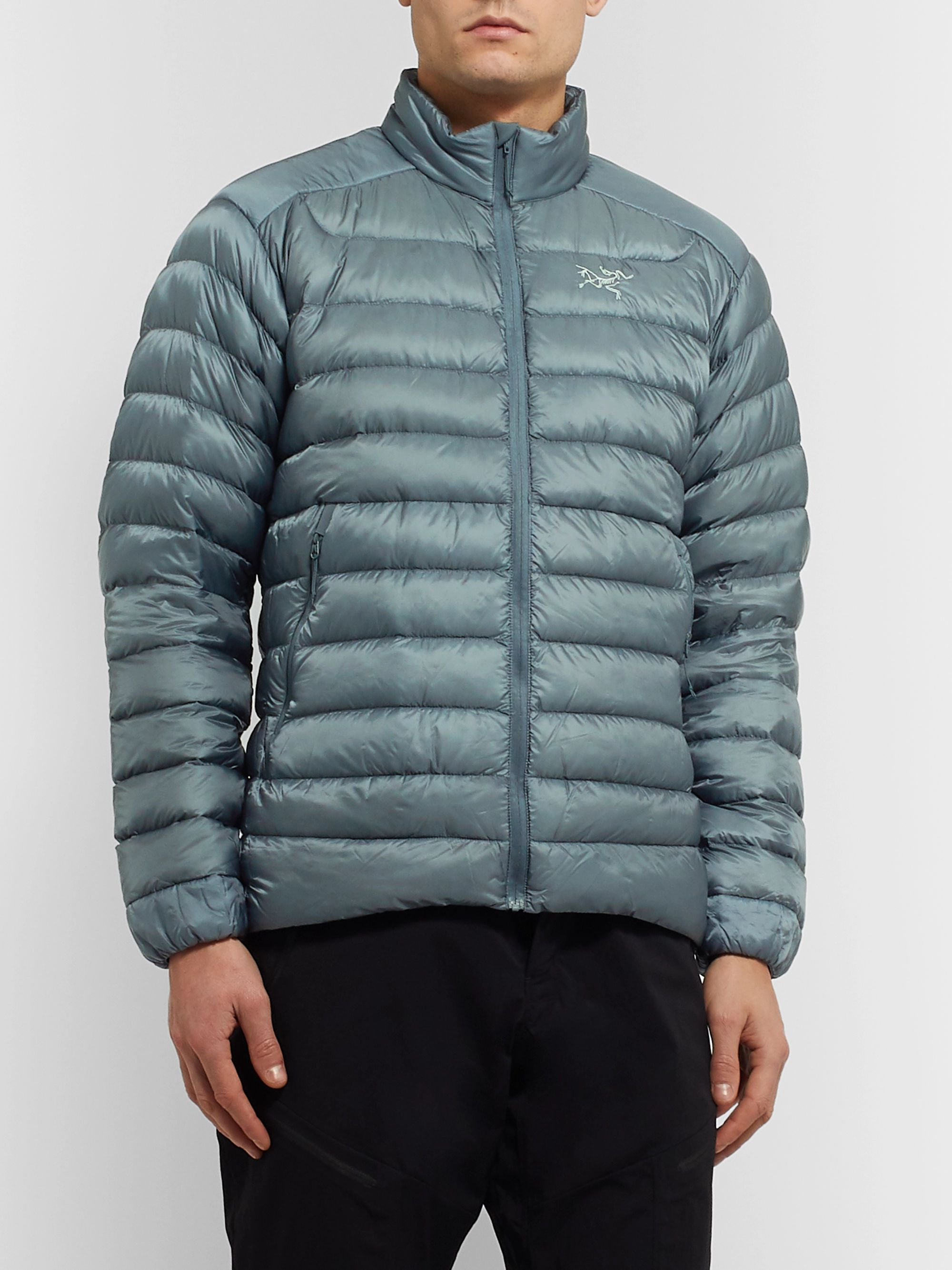 Arc'teryx Cerium LT Slim-Fit Quilted Arato 10 Nylon Down Jacket