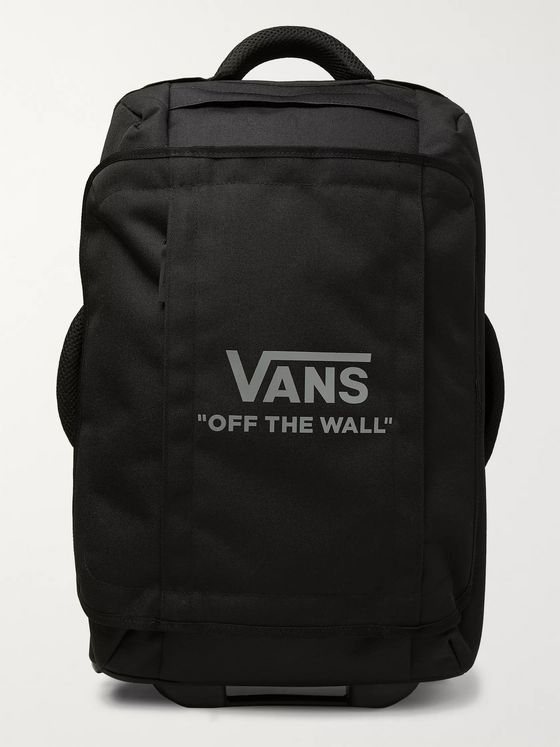 Vans Logo-Print Nylon Carry-On Suitcase