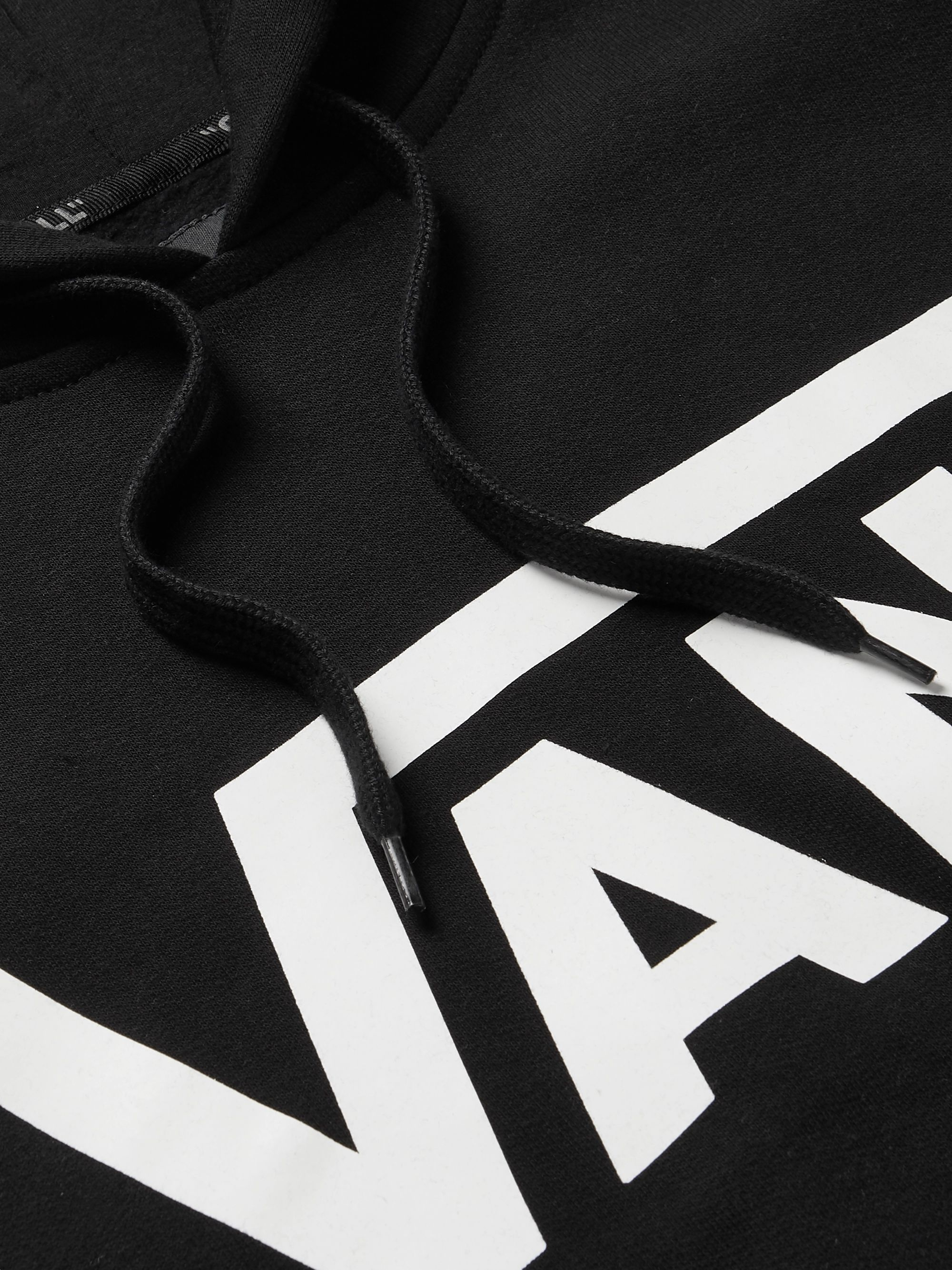 Vans Logo-Print Fleece-Back Cotton-Jersey Hoodie