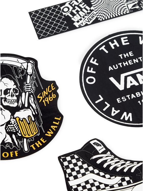 Vans Four-Pack Logo-Print Vinyl Stickers