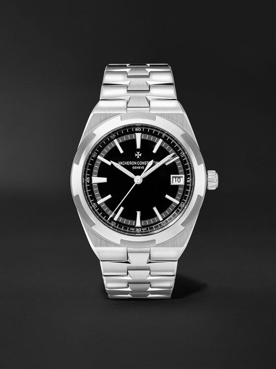 VACHERON CONSTANTIN Overseas Automatic 41mm Stainless Steel Watch, Ref. No. 	4500V/110A-B483