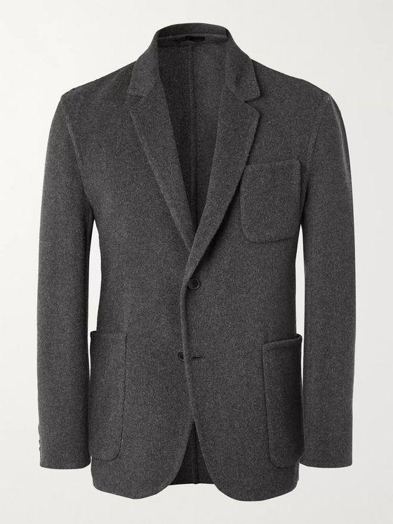 Mr P. Unstructured Cashmere Blazer