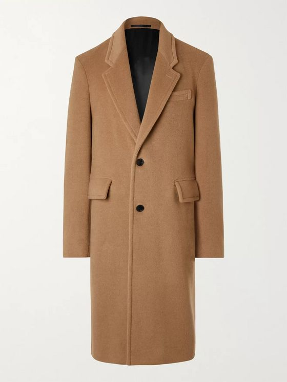 MR P. Camel Hair Coat