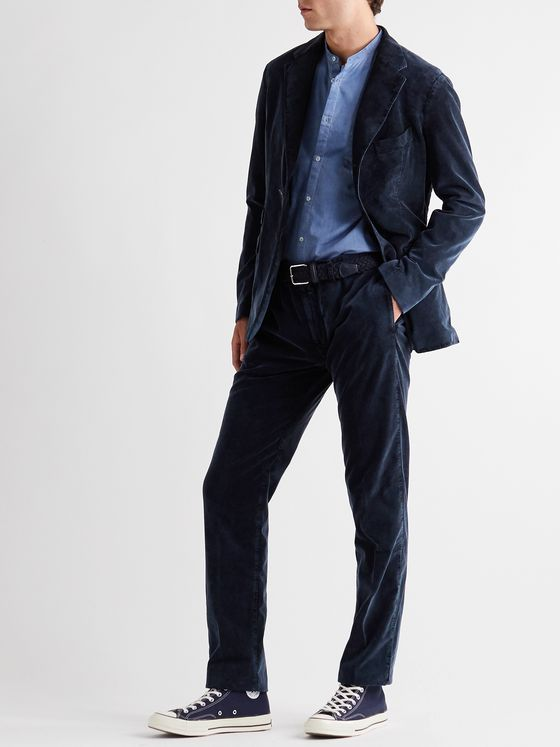 MASSIMO ALBA Cotton-Corduroy Suit Jacket