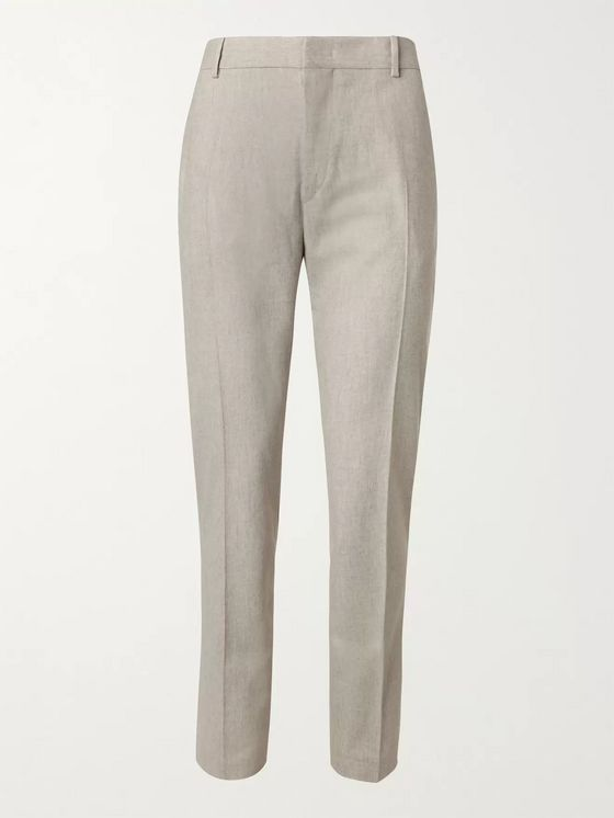 Isabel Marant Mélange Virgin Wool Trousers