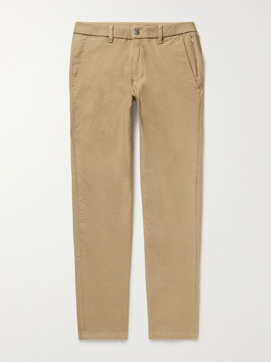 LULULEMON Commission Slim-Fit Cotton-Blend Golf Trousers