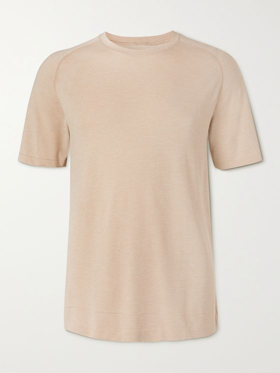 LULULEMON Metal Vent Tech 2.0 Panelled Stretch-Mesh T-Shirt