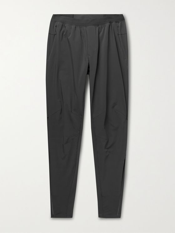LULULEMON Surge Hybrid Slim-Fit Tapered Stretch-Nylon Trousers