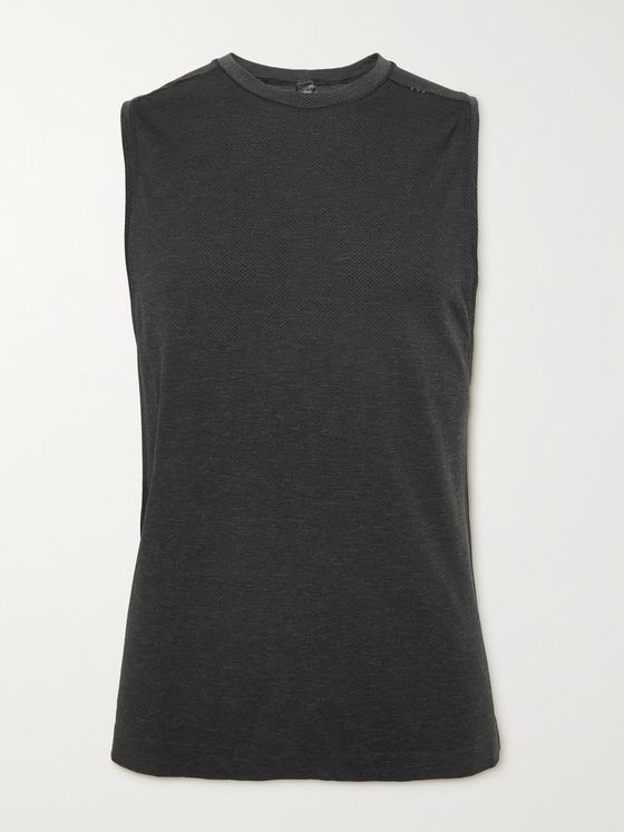 LULULEMON Metal Vent Tech 2.0 Mélange Stretch-Jersey Tank