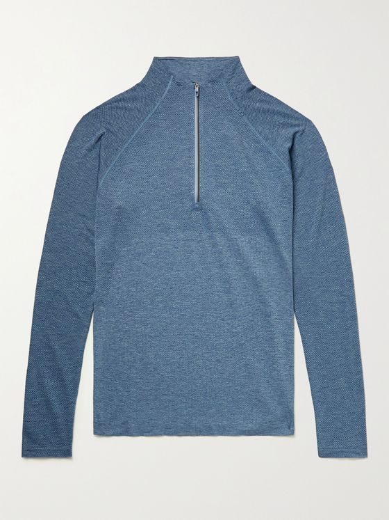 LULULEMON Metal Vent Tech 2.0 Stretch-Mesh Half-Zip Top