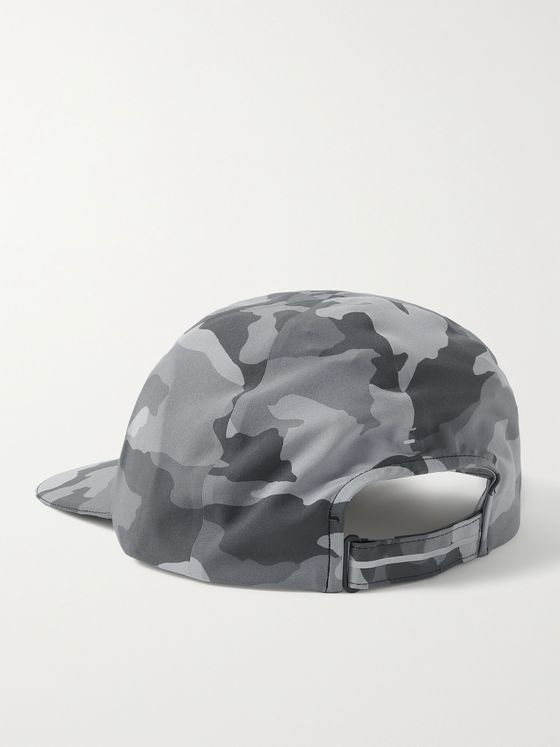 LULULEMON Fast and Free Camouflage-Print Swift Baseball Cap