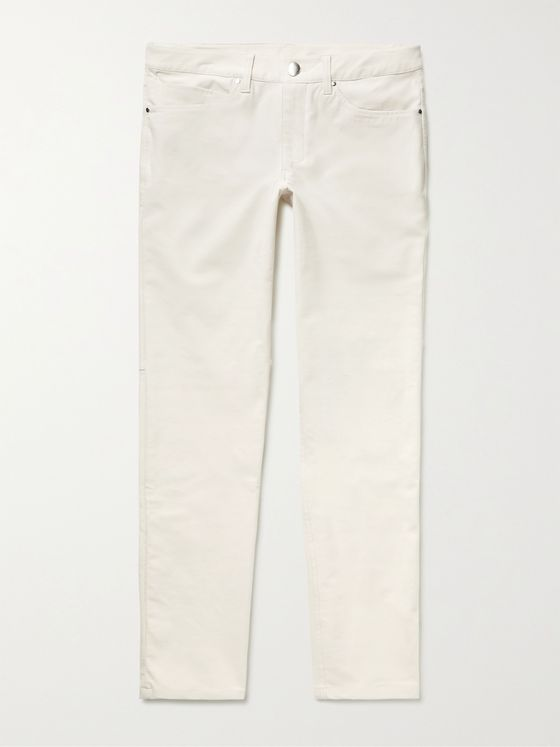 LULULEMON ABC Slim-Fit Tapered Utilitech Trousers