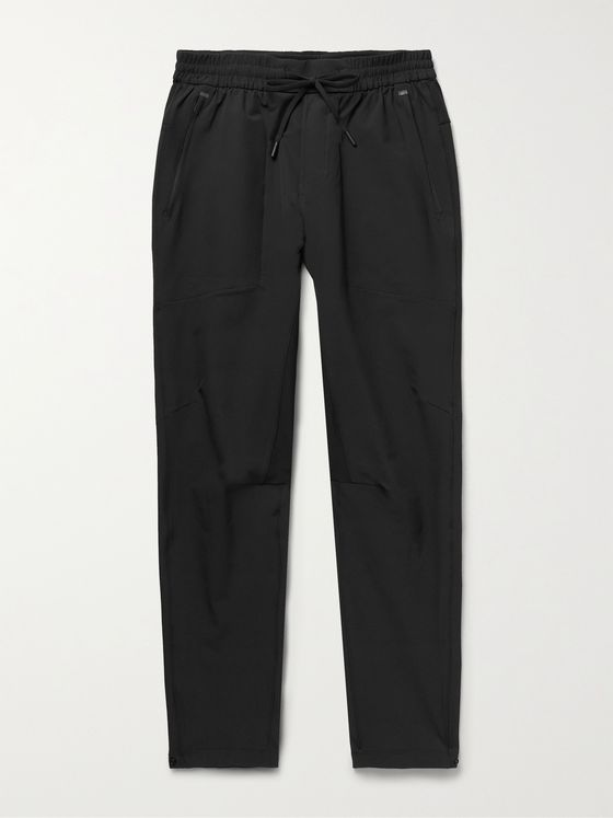 LULULEMON License To Train Tapered Recycled Stretch-Jersey Trousers
