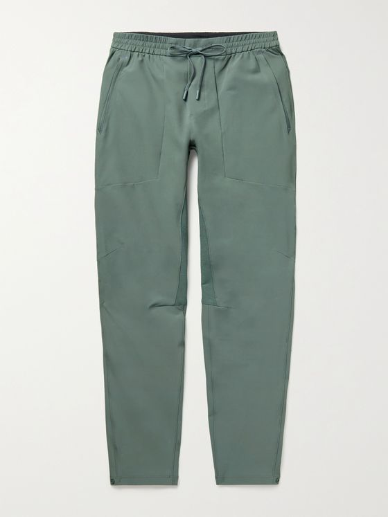 LULULEMON License to Train Tapered Recycled Stretch-Shell Sweatpants