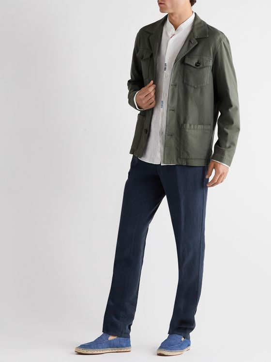 ALTEA Cotton-Blend Shirt Jacket