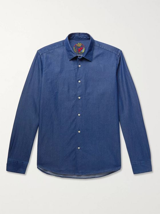 ALTEA Slim-Fit Denim Shirt
