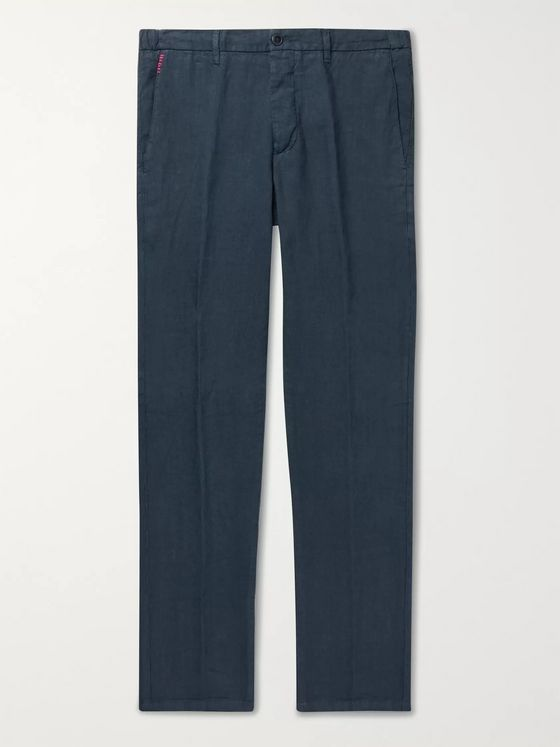 Altea Tapered Linen Trousers