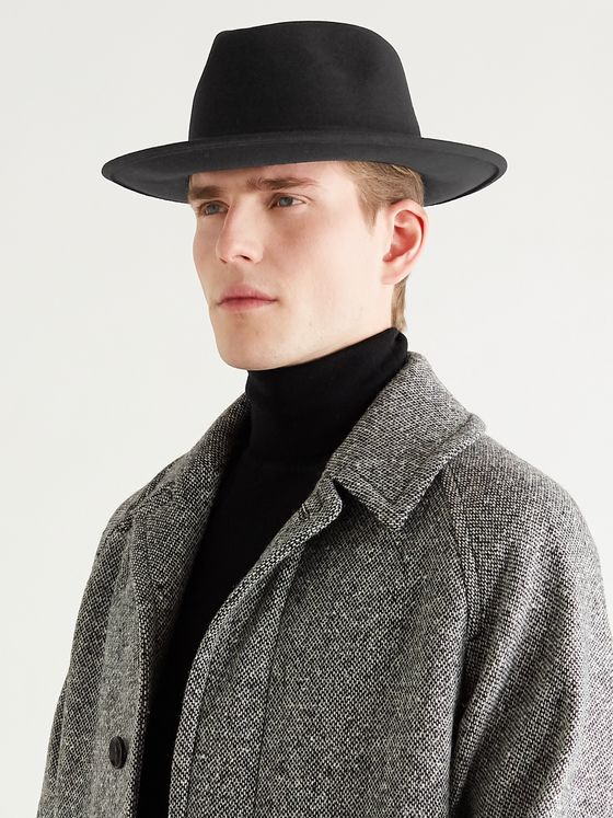 LOCK & CO HATTERS Nomad Rollable Wool-Felt Trilby Hat