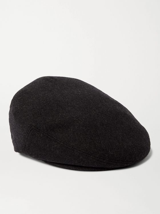 LOCK & CO HATTERS Oslo Wool-Blend Flat Cap