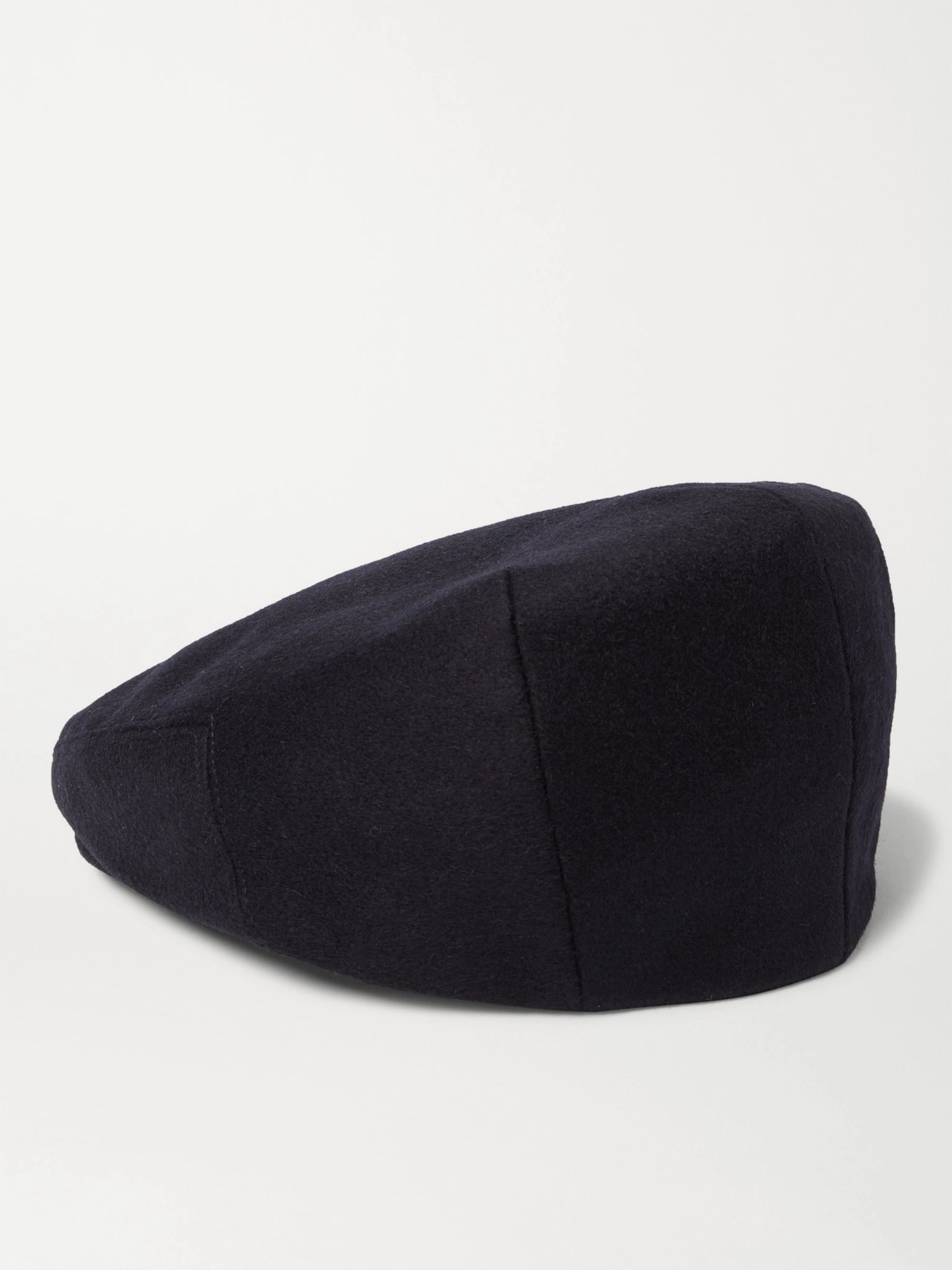 LOCK & CO HATTERS Glen Silk-Jacquard Flat Cap
