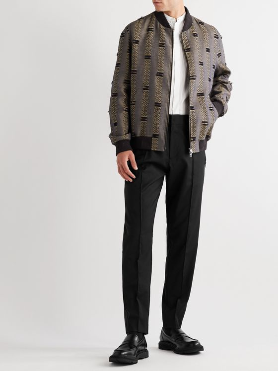 ETRO Tapered Wool Trousers