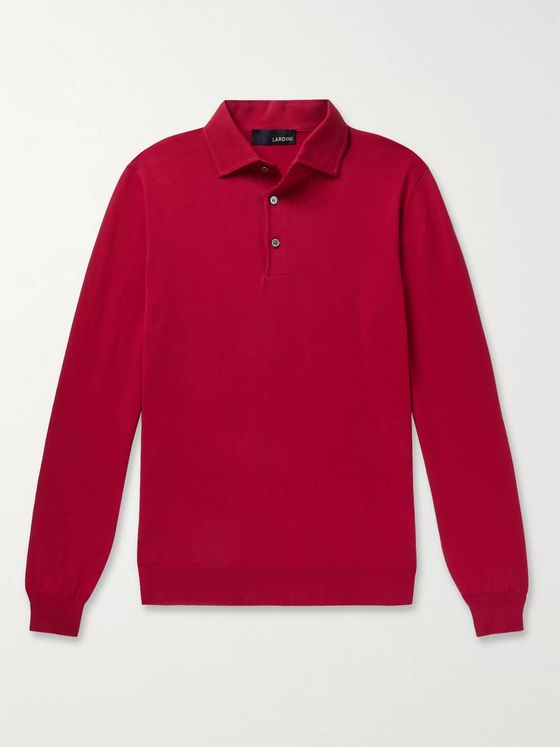 Lardini Paco Cotton Polo Shirt