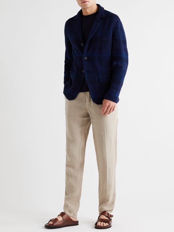 Missoni Crochet-Knit Cotton and Wool-Blend Blazer
