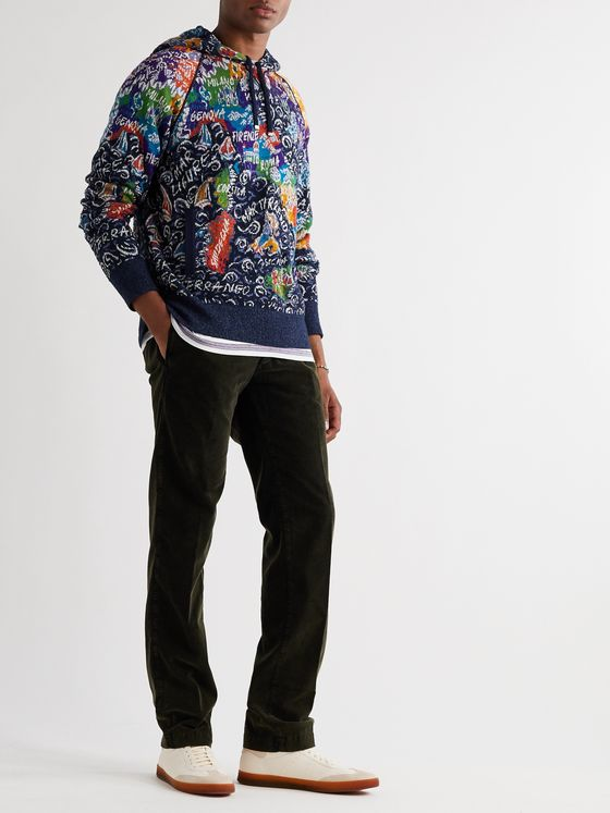 Missoni Crochet-Knit Cotton-Blend Hoodie