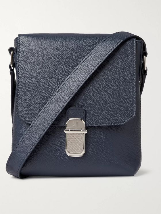 Dunhill Belgrave Full-Grain Messenger Bag