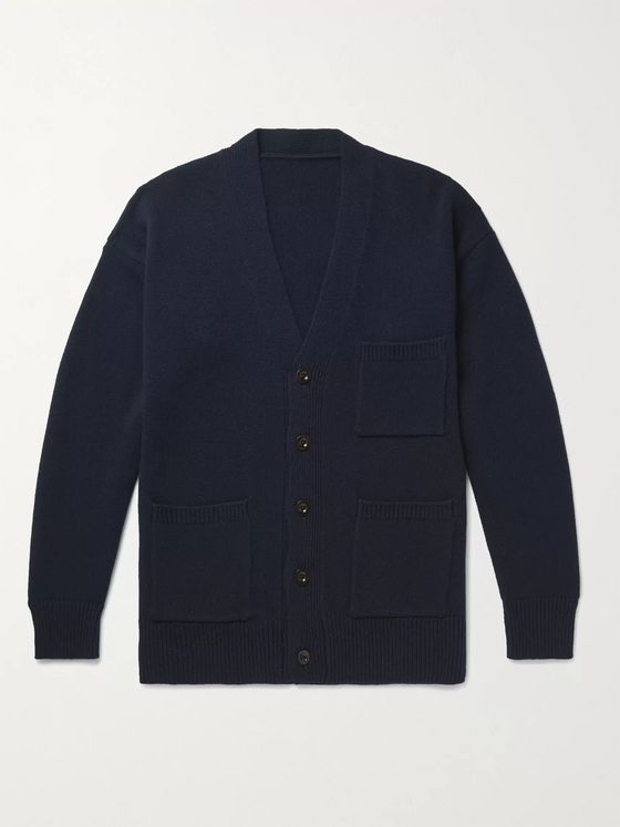 MR P. Wool Cardigan